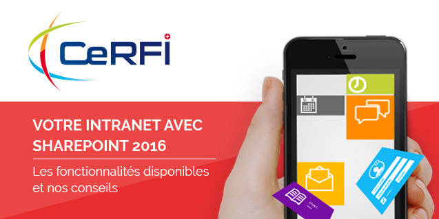 Intranet avec SharePoint 2016