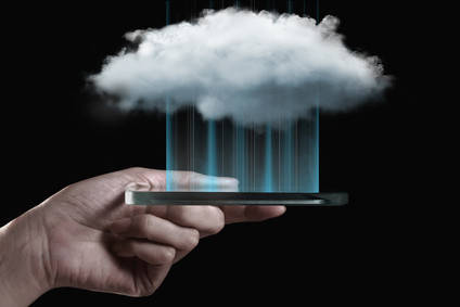 Cloud computing technology with smartphone